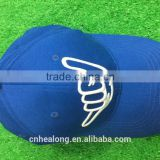 wholesale 100% polyester baseball cap with embroidery logo,high quality cap and hat with customized design