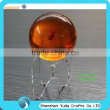 "2"" clear sphere display ,acrylic display holder for crystal ball,glass ball stand holder"