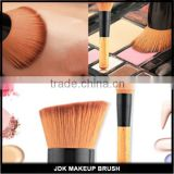 Flat Angled Wooden Liquid Foundation Powder Contour Bronzer Useful Makeup Brush