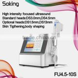 2016 Advancing USA technology high intensity focused ultrasound face lifting