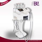 Body slimming combined fat wrinkle removal&skin rejuvenation vacuum cavitation rf machine---V100