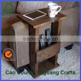 art minds wooden crafts wooden sofa retractable table / home decor iphone magazine table aside sofa