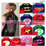 (Factory) Superhero cape mask Super hero costumes for kid