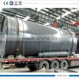 50-90% oil rate output Pollution free plastic machine making diesel oil and gasoline 12tpd