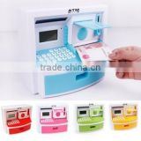 2015 new hot icti atm bank toy trendy gift colourful intellectual mini ATM Teller machine toy for children from china