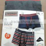 Mens Knitted Boxer Briefs (Garment Stock lots / Apparel Stock / stocklots / Garment Apparel from Bangladesh)