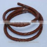 Bolo Braided Round Leather Cords