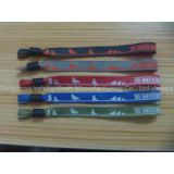 Wristband event type factory direct cheap fashion bracelet wristband with one way snap wristband lock