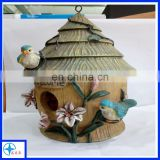 bird and flower mini decorative house-mini craft house
