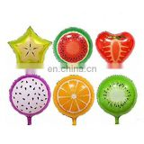 fruit aluminum balloon air foil balloon