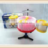 3d flashing mini jazz drum set