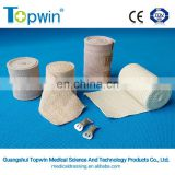 Two clips Medical latex elastic bandage