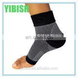 Athletic Knitted Open Toe Compression Ankle Socks For Sports#YLW-03