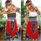 African dashiki Dress Sexy-Women-Traditional-African-Dashiki-Skirt-Print-Maxi-Party-Print-Dress Dashiki print Dresses elastic