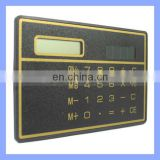 8 Digits Solar Power Pocket Mini Calculator