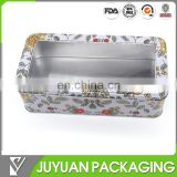 Watch chocolate candy packaging tin box with window wholesale