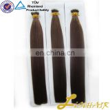 No Shedding No Tangle Keratin Hair Extension Remy Human Hair Nano Hair Color