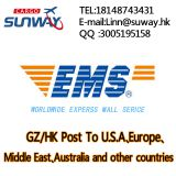 International Express by EMS China post Epacket UPS DHL FedEx to Europe/USA/Worldwide