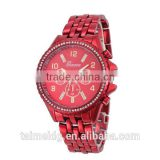 Top watch brand design diamond stainless