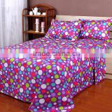 4PCS Microfiber Printed Bed Sheets Made in Indian Style                                                                         Quality Choice