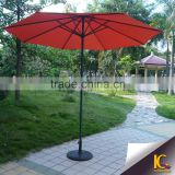 Outdoor furniture iron cheap big folding umbrella japanese parasol without base