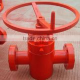 oil & gas pipe-line slab gate valve
