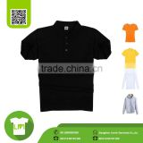 High quality black polo t shirt factory manufacturing companies