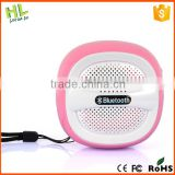 Customized new arrival cheap mini wireless stereo nfc bluetooth speakers mp3 l ine in newest hot sale bs-209