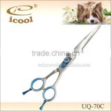 "Professional Pet Grooming Barber Scissors Curved 7.0 "" Scissor clippers"