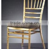 Modern Fabric Banquet Chair Wedding Dining Chair Yellow Hotel Aluminum Dining Chair BY-1232