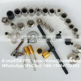common rail fuel injection repair part and auto injector repair machine,injector assemble and disassemble tools 38PCS
