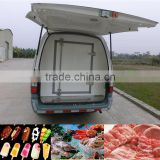 Ice cream delivery truck, food / fresh vegetable transport truck manufacturer