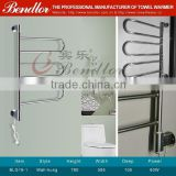 Bathroom Use Rotatable Stainless Steel HEATED TOWEL RACK / HEATED TOWEL RAIL (BLG19-1)
