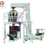 Fully-Automatic counting and packing machine for puffy food, crispy rice, jelly candy, pistachio