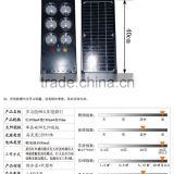 9w integrated Solar street lights BLD1406,Light cover is inported PC material, bearing cold or hot temperature.