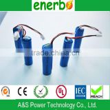 3.2v LiFePO4 battery 14500 rechargeable lithium battery 3.2V 450mAh with long cycle life