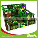 Commercial Kids Plastic Indoor Playground Inflatable Gym Jungle Playground                                                                         Quality Choice