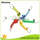 Blank Customized Logo Cheap Colorful Beer Bottle Opener Keychain