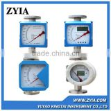 LZ-series vaiable area high pressure flow meter with metallic measuring tube