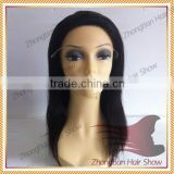 Medical Wig For Cancer Use Silicone Cap Soft Full Lace Wig                                                                         Quality Choice