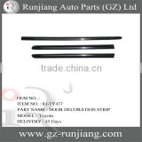 DOOR DECORATION STRIP FOR TOYOTA COROLLA BODY PARTS