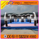 Used commercial inflatable snowman bouncer for sale, jumper bouncer house, outdoor bouncy castle