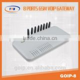 goip 8 ports goip voip gateway,8 sim card goip configuration sms router,free calls gsm gateway pabx telephone system 8 goip