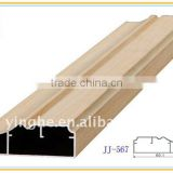 wood grain decorative aluminium cabinet door frame                                                                         Quality Choice