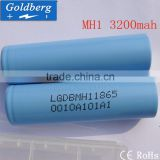 Batched Stock for LG MH1 18650 rechargeable battery LGDBMH1 3200mAh battery LiMn 3.7v e-cig power tools cell