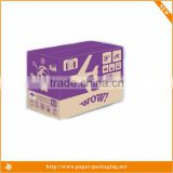 Offset craft die cut corrugated paper board grapes packing boxes