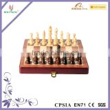 Chess Piece Implant Wood Chessboard