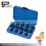 "Auto Repair Tools Car Repair Tools Pneumatic Tools 9pcs 1/2"" Dr. Hex Impact Socket Bit Set"