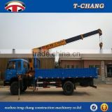 China hot sale SQ6.3SA2 telescopic boom winch small mobile cranes for sale with ISO9001 made in china