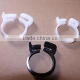 Plastic pipe clamp, plastic hose clamps, clamp, pipe clamp strength, clamp, plastic hoop, plastic fasteners